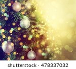 christmas background | Shutterstock . vector #478337032