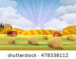 Countryside Landscape With...