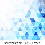 blue grid mosaic background ... | Shutterstock .eps vector #478342996
