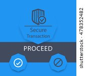secure transaction window  ui...