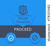 secure transaction window  ui...