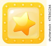 bonus star game icon in gold...