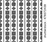 celtic knot seamless pattern | Shutterstock .eps vector #478372438