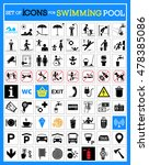 very useful and usable set of... | Shutterstock .eps vector #478385086