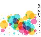 Abstract Colorful Circles...