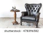 Black Genuine Leather Classica...