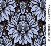 vector damask seamless pattern... | Shutterstock .eps vector #478399972