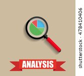 business analysis. chart pie... | Shutterstock . vector #478410406