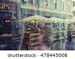 abstract reflection summer... | Shutterstock . vector #478445008