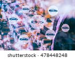 car sharing concept. sharing... | Shutterstock . vector #478448248