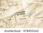 yverdon les bains. switzerland | Shutterstock . vector #478453162