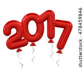 new year balloons | Shutterstock . vector #478459846