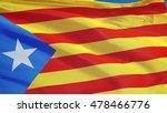 estelada blava flag waving... | Shutterstock . vector #478466776