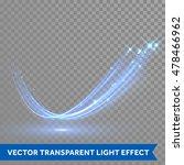blue glittering star dust... | Shutterstock .eps vector #478466962