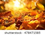 lively closeup of falling... | Shutterstock . vector #478471585