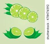 abstract vector illustration... | Shutterstock .eps vector #478476592
