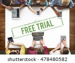 free trial demo offer special... | Shutterstock . vector #478480582