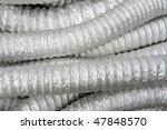 Air conditioner tube - stock photo