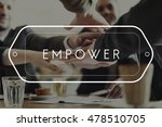 empower enable emancipate...   Shutterstock . vector #478510705