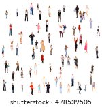 many colleagues office culture    Shutterstock . vector #478539505