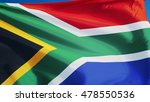 south africa flag waving... | Shutterstock . vector #478550536