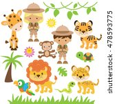 safari vector illustration | Shutterstock .eps vector #478593775