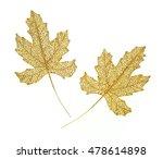 Two Golden Sparkle Autumnal...
