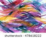 hand technique washing... | Shutterstock . vector #478618222