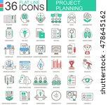 vector business finance project ... | Shutterstock .eps vector #478645162