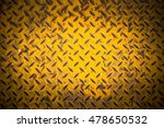 yellow metal sheet with dark...   Shutterstock . vector #478650532