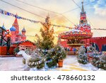 view of kremlin and cathedral... | Shutterstock . vector #478660132