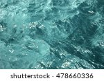 texture blue sea water with... | Shutterstock . vector #478660336