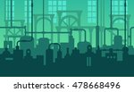 abstract industrial... | Shutterstock . vector #478668496