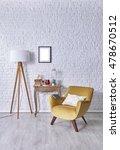 modern brick wall board... | Shutterstock . vector #478670512