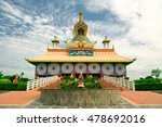 Buddhist Temple In Lumbini