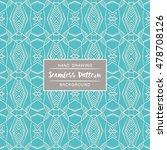 seamless patterns backgrounds.... | Shutterstock .eps vector #478708126