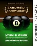 Billiard Challenge Poster....