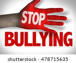 stop bullying | Shutterstock . vector #478715635
