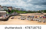 the pretty harbour at tenby on... | Shutterstock . vector #478718752