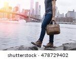 closeup of a young entrepreneur ... | Shutterstock . vector #478729402