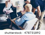 group people startup... | Shutterstock . vector #478731892