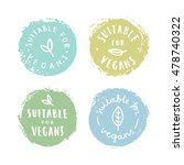 set of badges. suitable for... | Shutterstock .eps vector #478740322