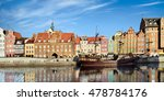 colorful historic houses by... | Shutterstock . vector #478784176