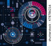 mechanical scheme  vector... | Shutterstock .eps vector #478786216