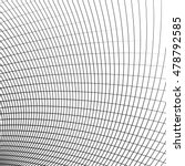 grid   mesh of dynamic curved... | Shutterstock .eps vector #478792585