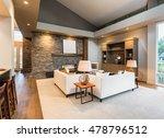 beautiful living room interior... | Shutterstock . vector #478796512