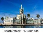 ilha fiscal in guanabara bay ... | Shutterstock . vector #478804435