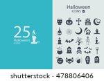 set of halloween characters....   Shutterstock .eps vector #478806406