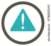 warning error vector bicolor...