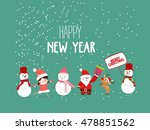 merry christmas and new year...   Shutterstock .eps vector #478851562
